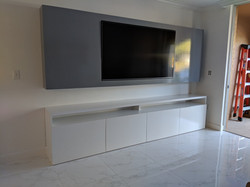 Floating TV Panel