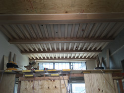 Oak Exposed Box Beam Ceiling