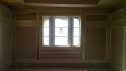 Recessed Wall Paneling & Window Trim