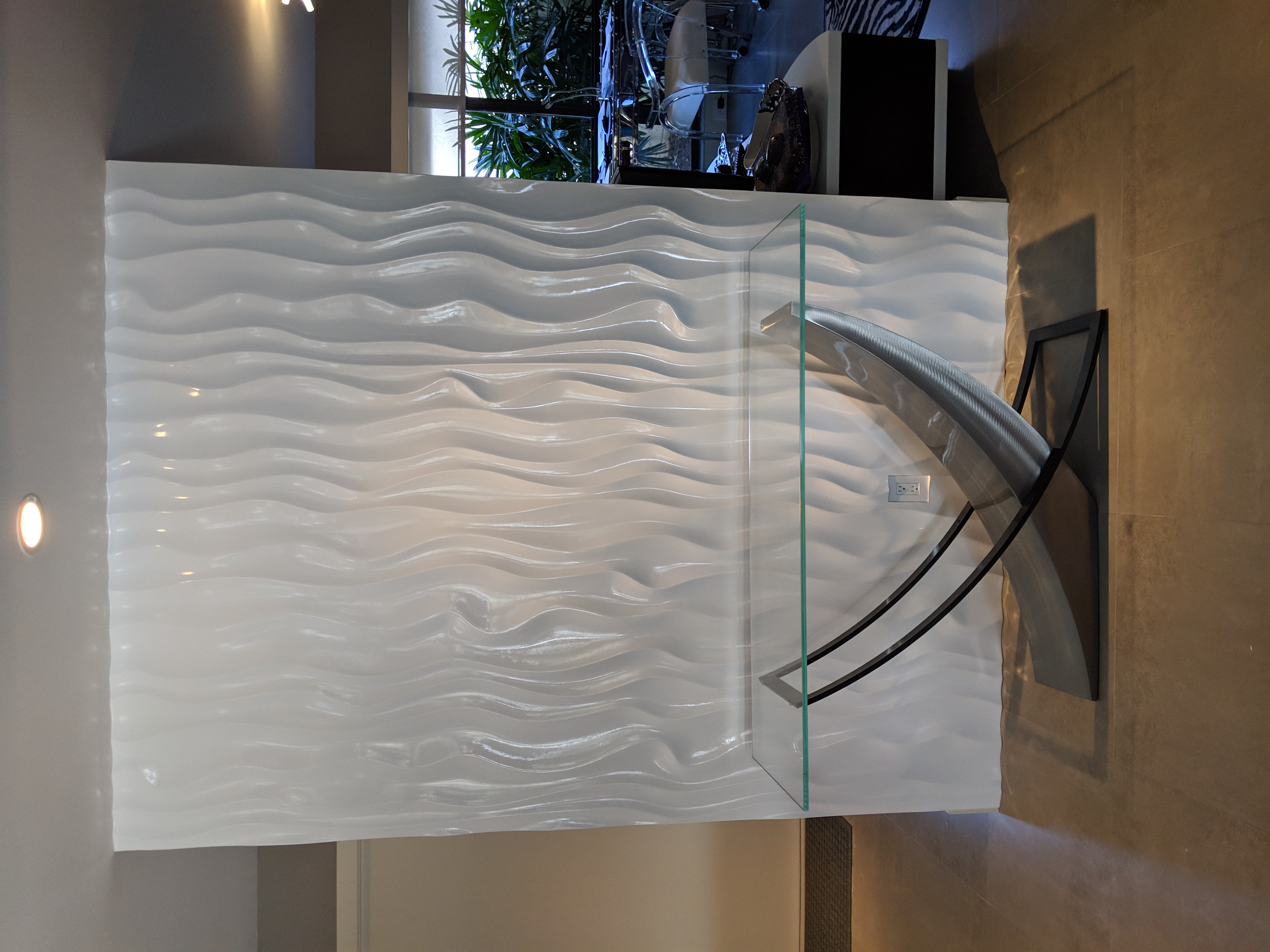 3D Wave wall panels