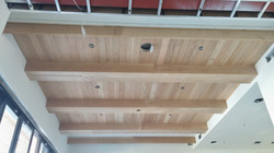 Exposed Box Beam Ceiling