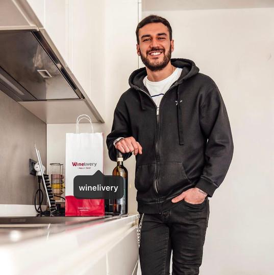 Lorenzo x Wine Delivery