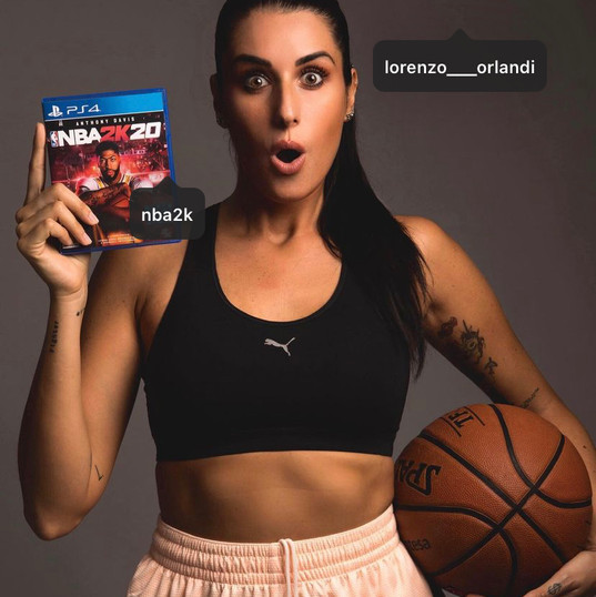 Valentina x NBA