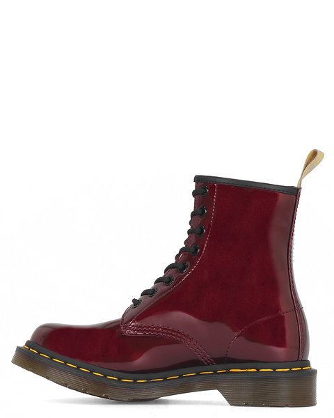 Dr. Marten's Vegan 1460 Chrome Oxblood 8 Eye Boot 23922601
