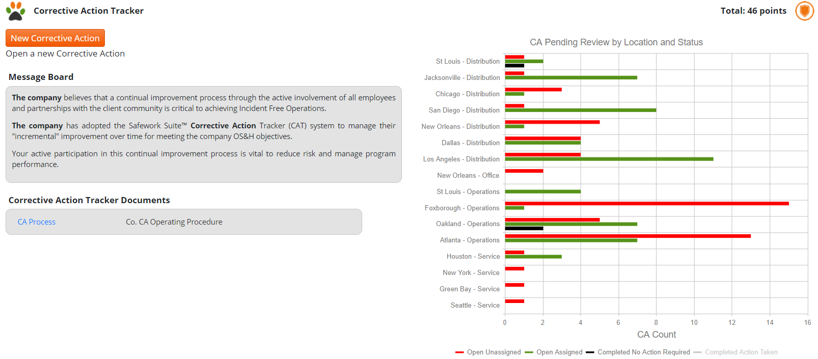 CA Homepage Pending Review