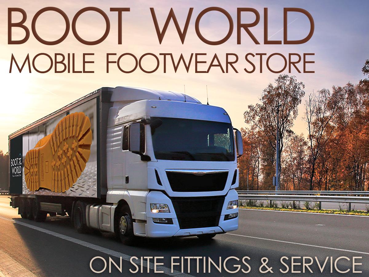 Mobile Footwear Store