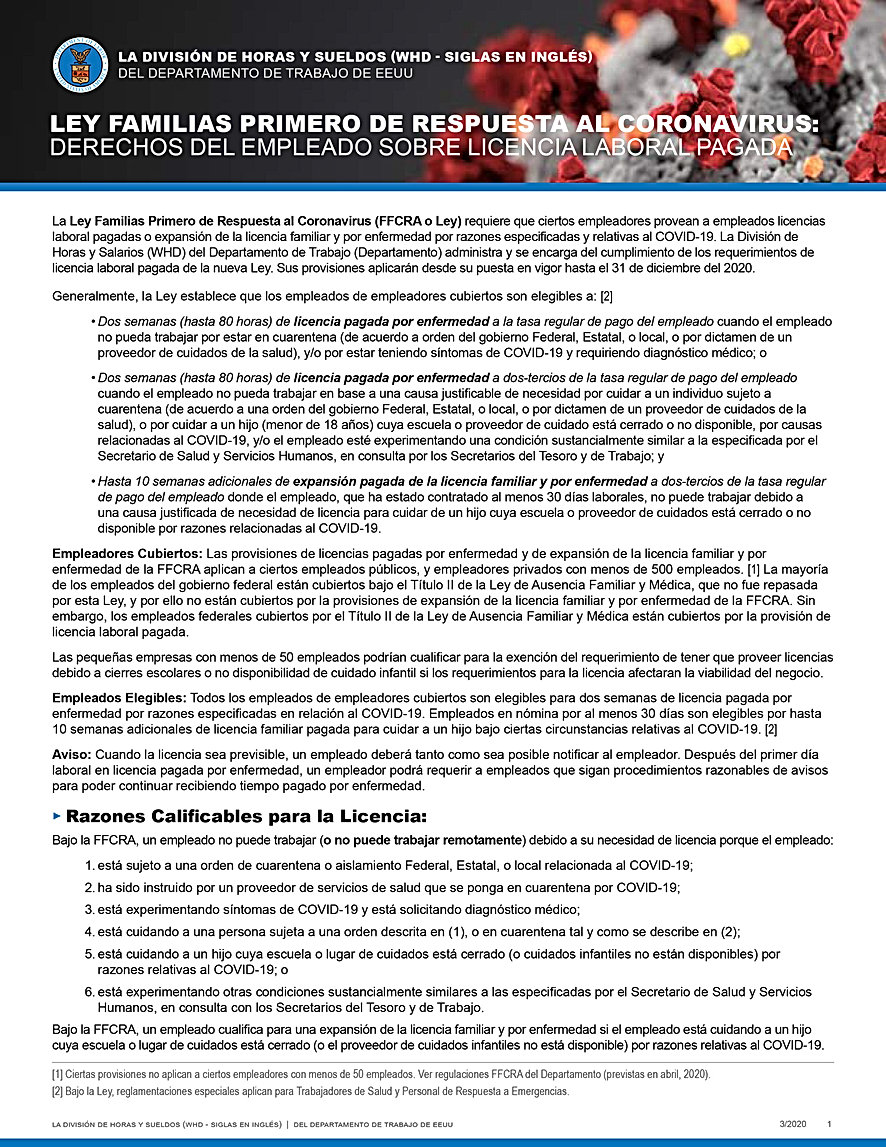 FFCRA-Employee_Paid_Leave_Rights_SPANISH