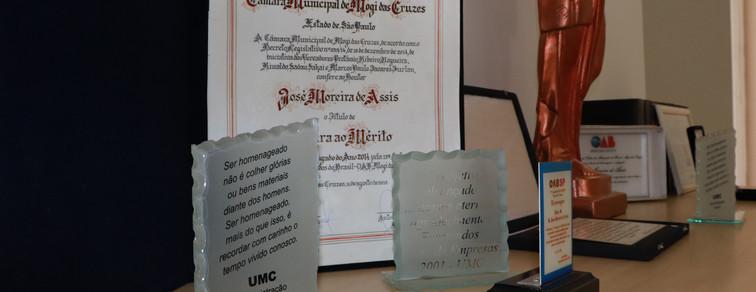 Premios e Certificados