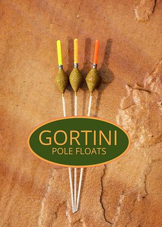 GORTINI 4x12 Clear Diamond pole float