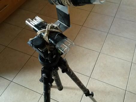 Adjustable prop holder
