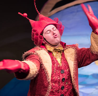 Josiah Howlett in the Little Mermaid