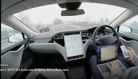 How CAPTCHA tests are helping driverless cars