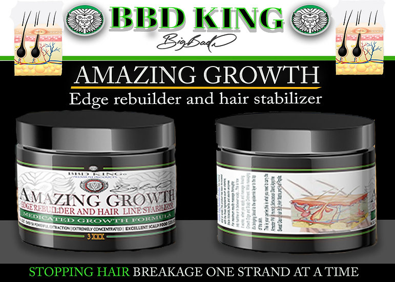 Amazing Growth Edge Rebuilder and Hairline Stabilizer