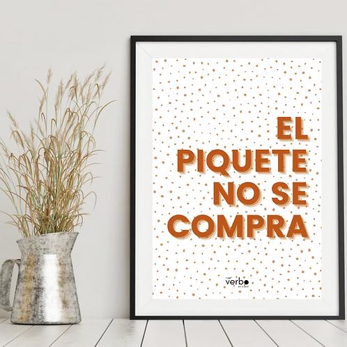 el piquete | print
