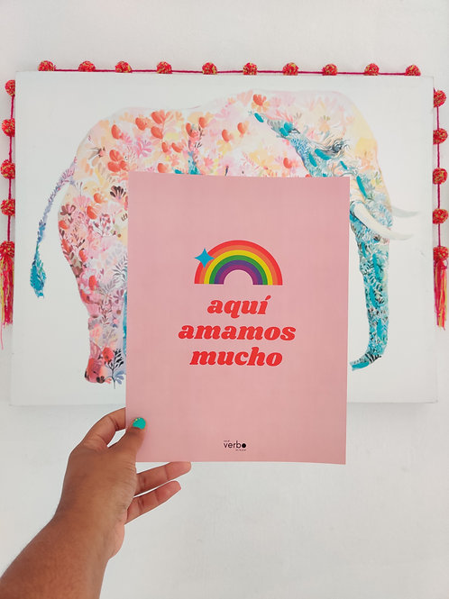 mucho amor poster