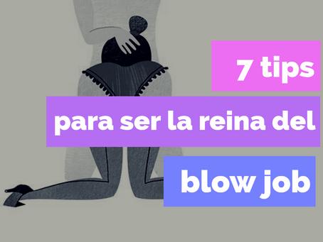 7 tips para ser la reina del blow job