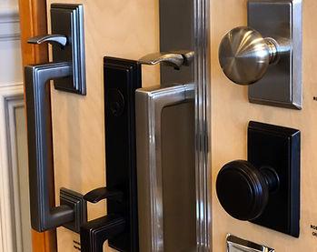 Door Hardware Samples