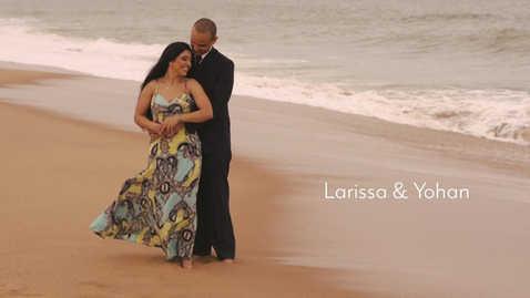 Ensaio pre wedding em Rio das Ostras, RJ - Larissa e Yohan