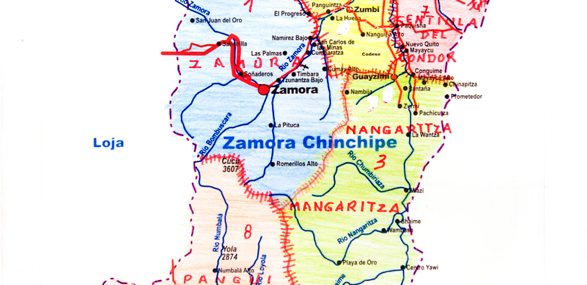 Provincia Zamora Chinchipe