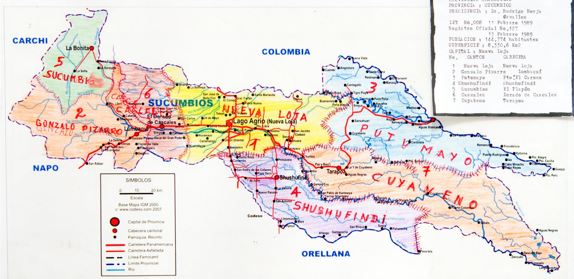 Provincia Sucumbíos