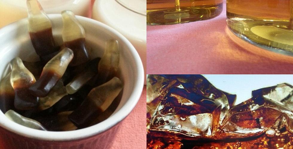 Cola Bottles  Soy Candle