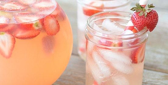 Lemonade & Strawberry Soy Candle