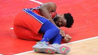 Joel Embiid se blesse dans son premier match après le All-Star weekend