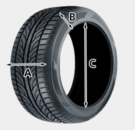 tyre size check belfast