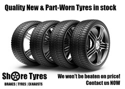 New and used car tyre offer