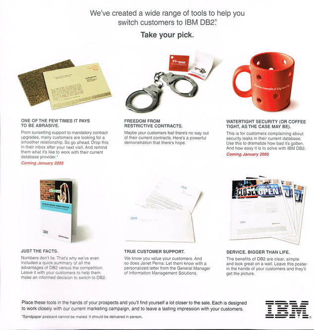IBM Sales rep premium
