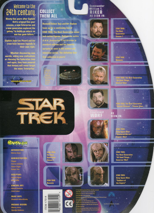Diamond Select Star Trek