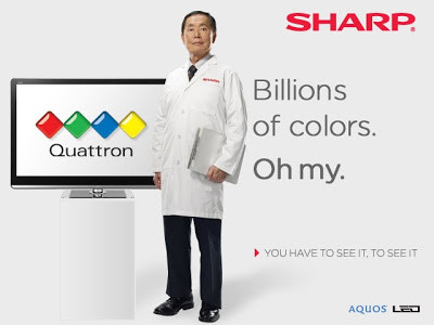 Sharp Quattron banner