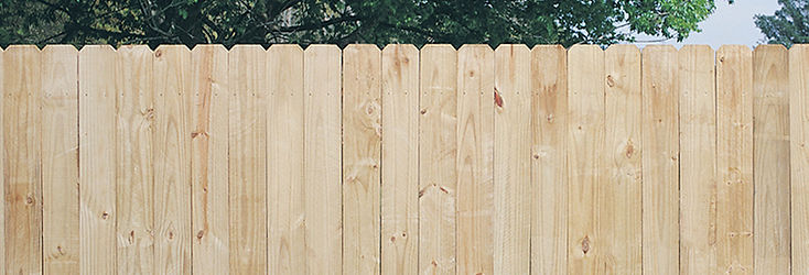 Dog Ear Treated Fence Boards