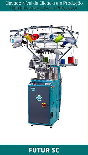 Máquina de peúgas FUTUR 5C