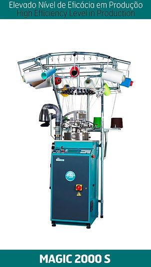 Máquina de peúgas MAGIC 2000S