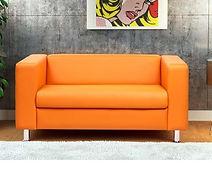 Обтяжка офисного дивана