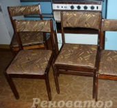 Обивка старых стульев