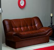 Обтяжка кожаных диванов