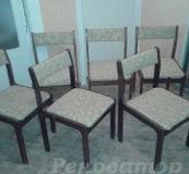 Обивка деревянного стула