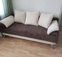 Обшивка дивана Еврокнижка