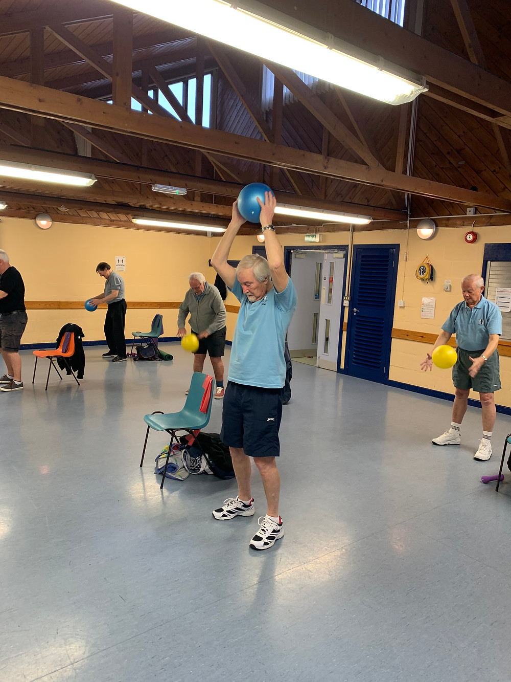 prostate cancer exercise group