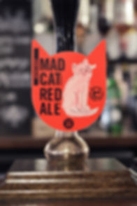 Sand Creative Mad Cat Brewery Red Ale