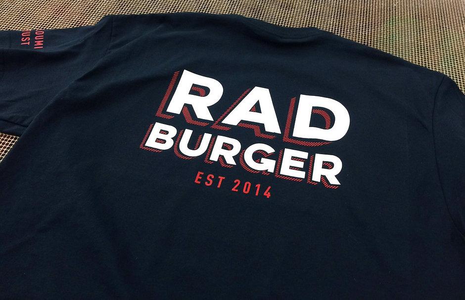 Sand Creative Rad Burger T shirt