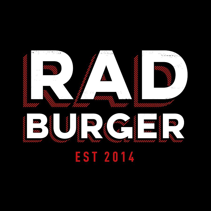 Sand Creative Rad Burger Logo
