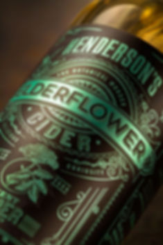 Sand Creative Henderson's Redesign Elderflower close up