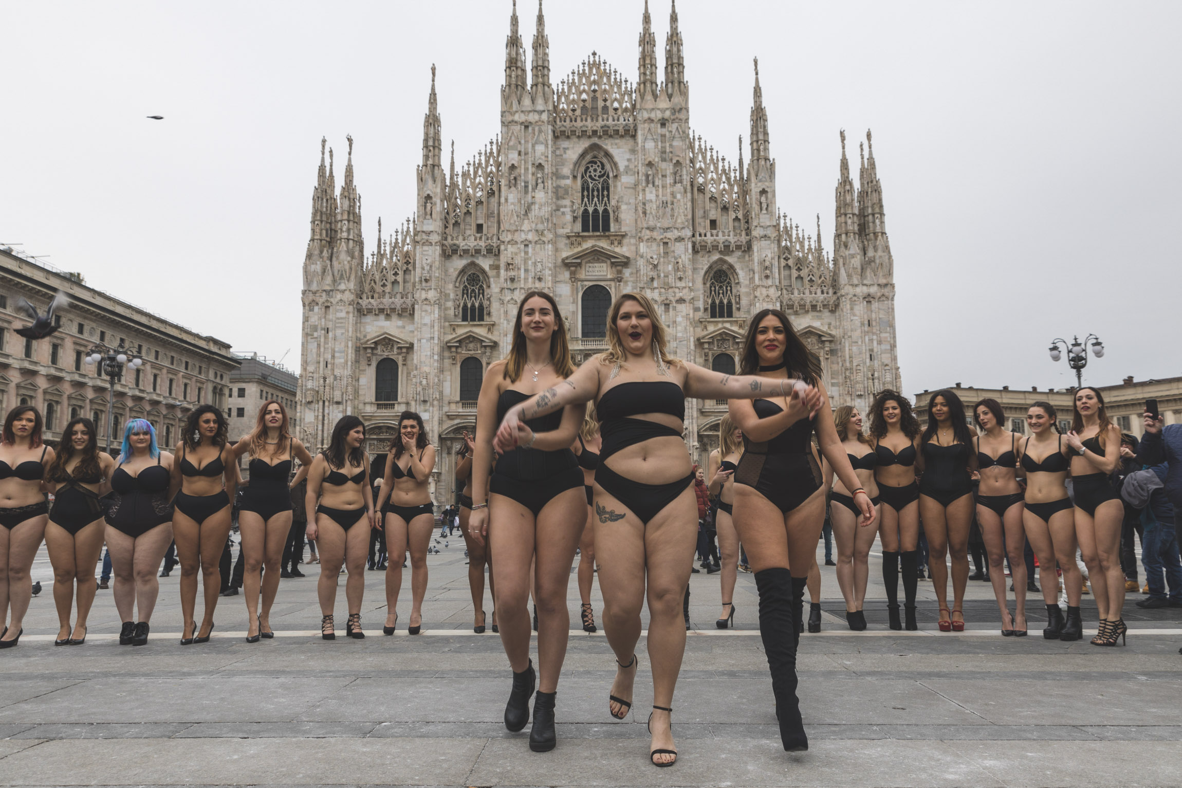 BodyPositiveCatlwalk Milan 2018
