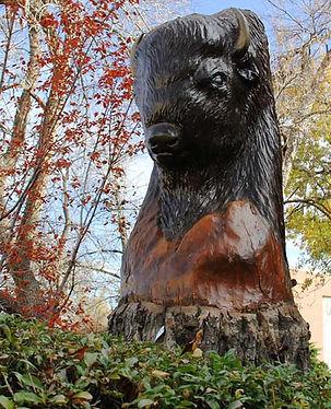 UH Boulder Buff Statue