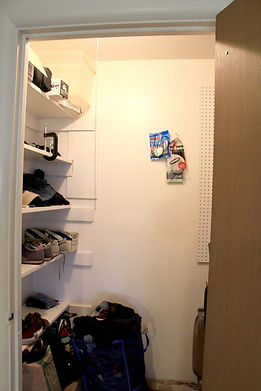 1-Bedroom, closet