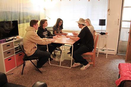 Studio Apartment, dining area