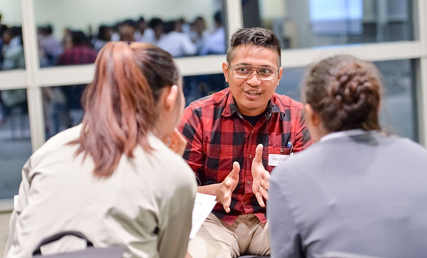(CAREER) Mentoring session with youths.J
